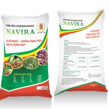 Phân hữu cơ khoáng NAVINT NAVIRA các loại cây