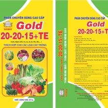 Phân chuyên dùng cao cấp GOLD 20-20-15+TE