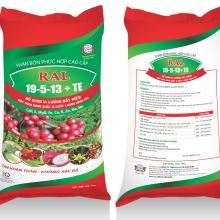 Phân bón phức hợp cao cấp  RAL 19-5-13+TE